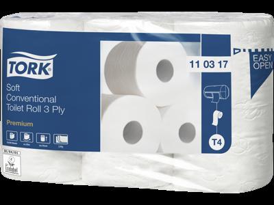 Tork Premium toiletpapir T4 krt/42 ruller