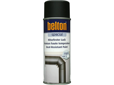 Belton spray 323 Varmefast sort 650 gr