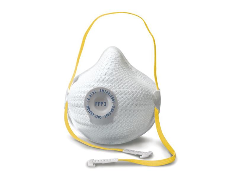 Moldex AIR FFP3 Maske DV 3255 m. ventil