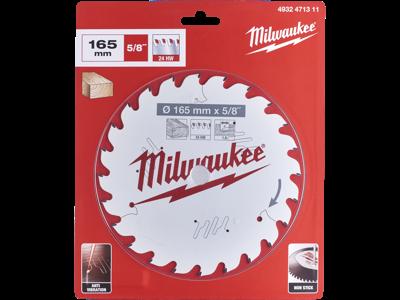 Milwaukee Rundsavklinge PW 165×15.87×1.6mm 24ATB