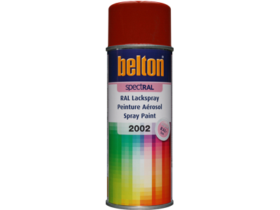 Belton spray 324 Blodorange RAL2002