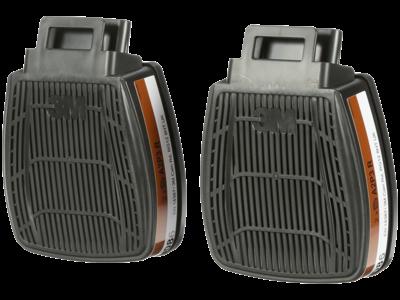 3M SecureClick kombifilter A2+P3R D8095, 2 par