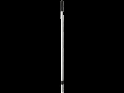 Vikan Teleskopskaft m/gevind alu ø26mm 1,0-1,8m, sort