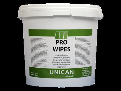 Unican pro-wipe vådservietter 90stk
