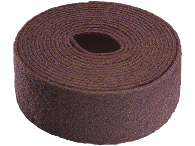 Tyrolit Vlies i rulle 100 mm×10 mtr A fin rødbrun