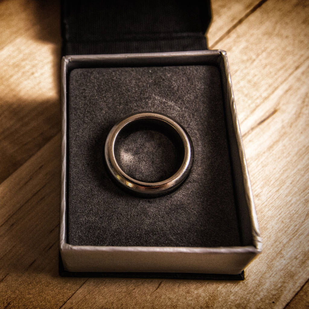 SØLV KINETIC PK RING