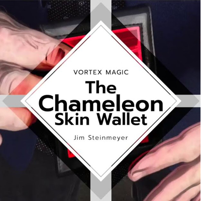 CHAMELEON SKIN WALLET - Jim Steinmeyer