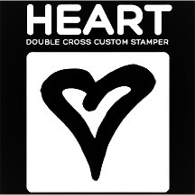 DOUBLE CROSS HEART STAMPER