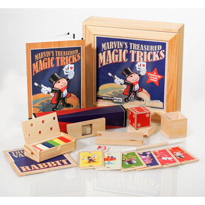 MARVIN'S WOODEN MAGIC SET