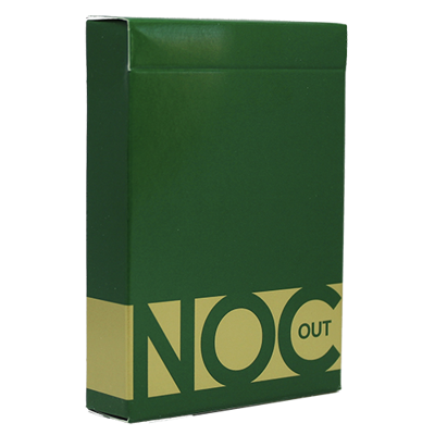 GREEN NOC OUT PLAYING CARDS