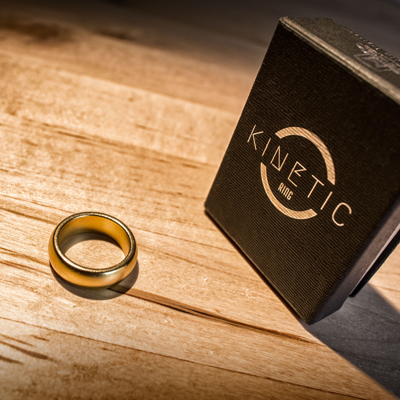 GOLD KINETIC PK RING