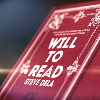 WILL TO READ - Steve Dela