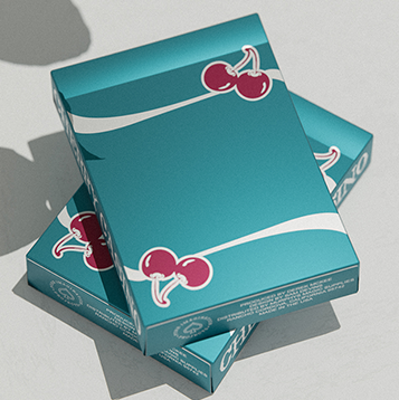 CHERRY CASINO TROPICANA TEAL DECK