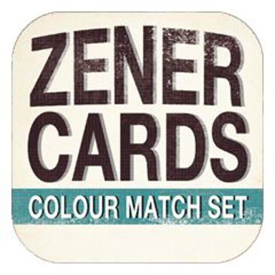 ZENER COLOUR MATCH CARDS