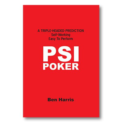PSI-POKER - Ben Harris