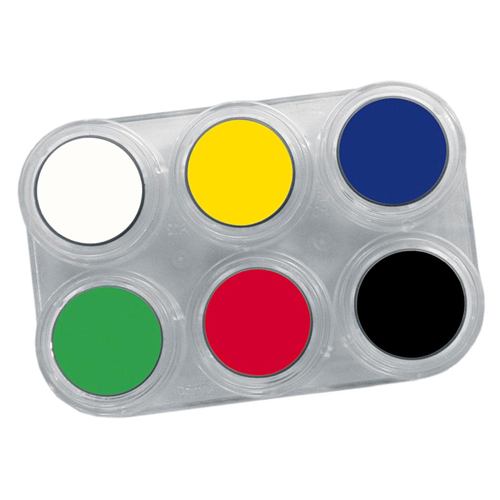 GRIMAS SMINKEPALET 6 farver