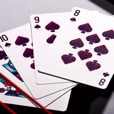 MARBLES PLAYING CARDS