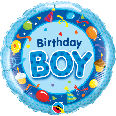 BIRTHDAY BOY FOLIEBALLON