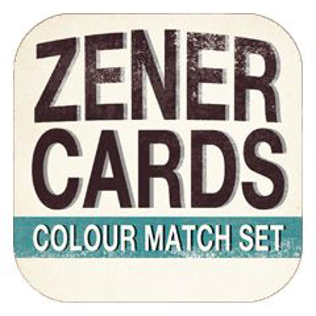 ZENER COLOUR MATCH CARDS - Nikolas Mavresis