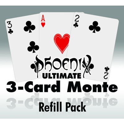ULTIMATE 3 CARD MONTE REFILL