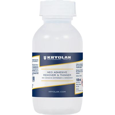 KRYOLAN SILICONE MASTIX REMOVER - 100 ml.