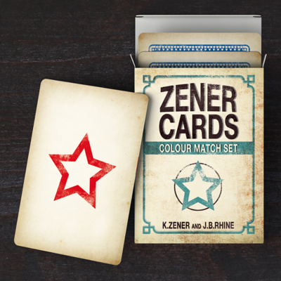 ZENER COLOUR MATCH CARDS - Nikolas Mavresis