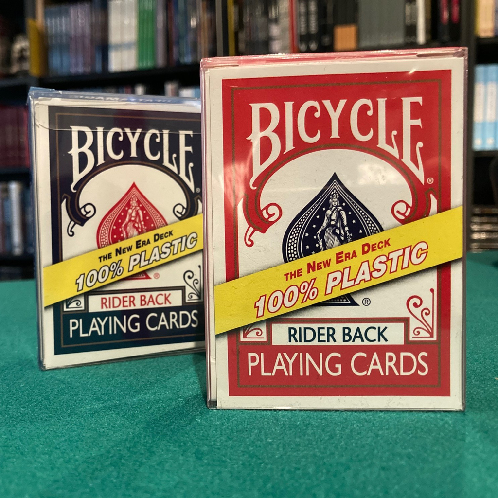 BICYCLE PLASTIC PLAYING CARD
