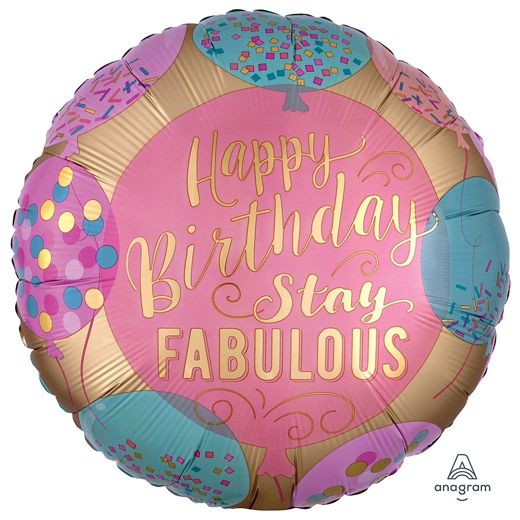 STAY FABULOUS BALLOON