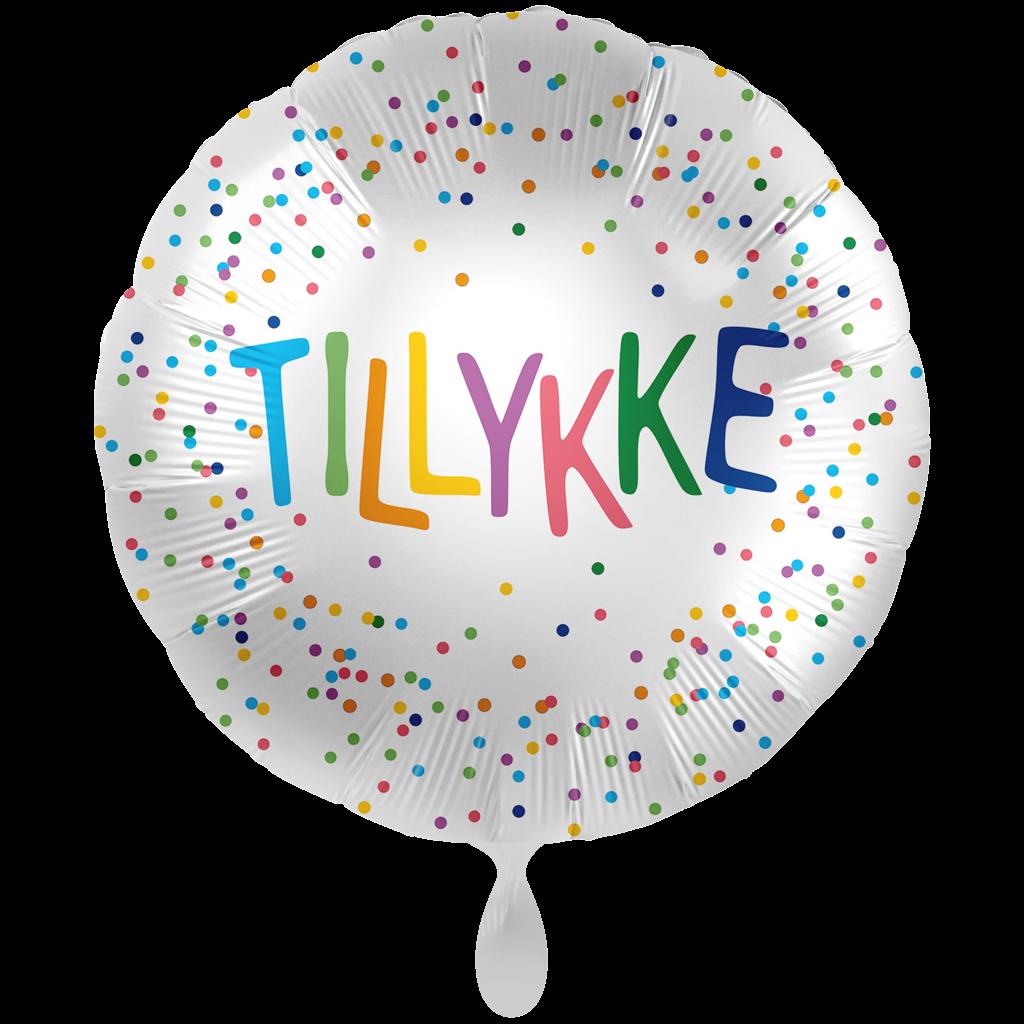 DANSK TILLYKKE BALLON