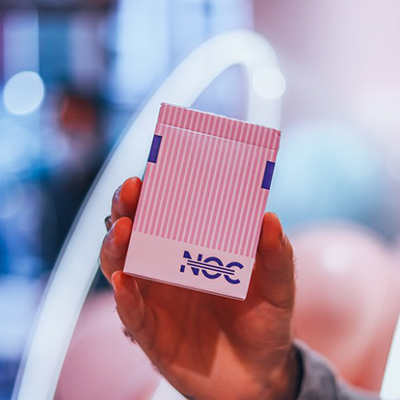 NOC 3000X2 PINK PLAYING CARDS