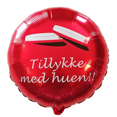 TILLYKKE MED HUEN