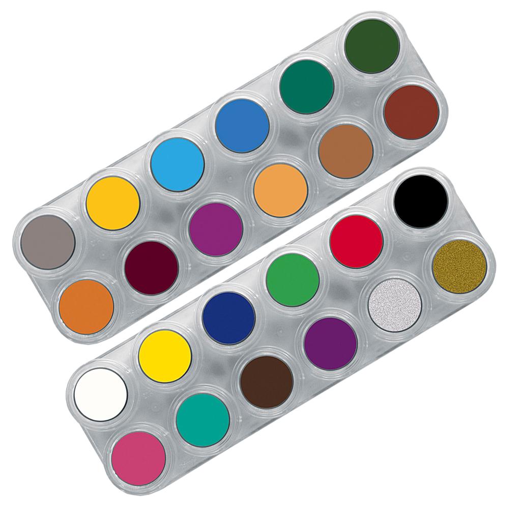 GRIMAS SMINKEPALET 24 farver