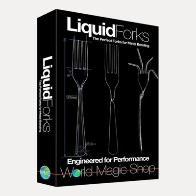 LIQUID METAL FORKS - 50 pcs.