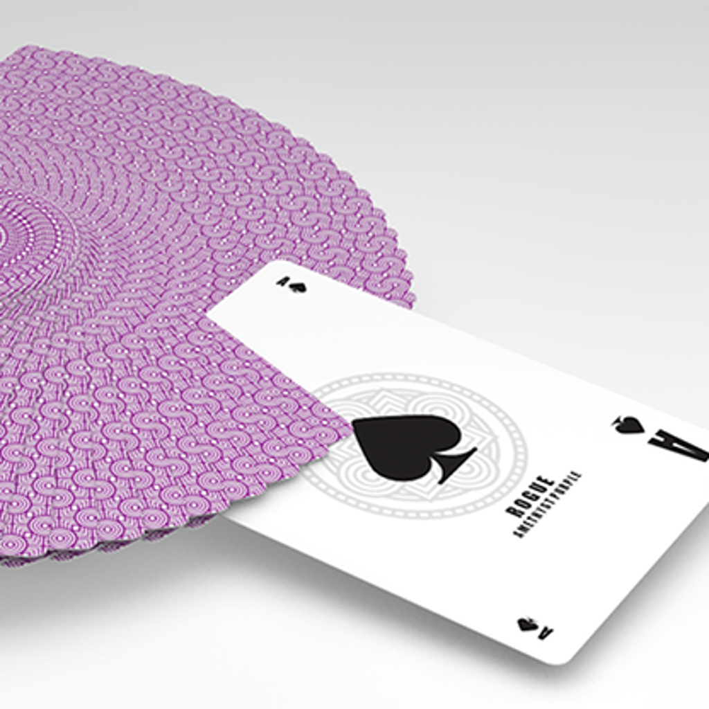 ROUGE AMETHYST PURPLE PLAYING CARDS
