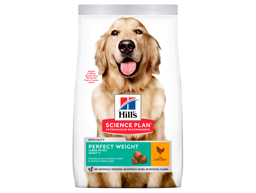 HILL'S SCIENCE PLAN CANINE ADULT PERFECT WEIGHT LARGE BREED WITH CHICKEN HUNDEFODER