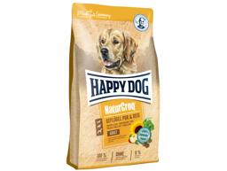 HAPPY DOG NATURCROQ FÅGEL HUNDFODER