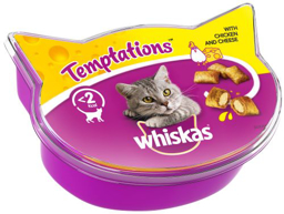 WHISKAS TEMPTATIONS KATTEGODBIDDER