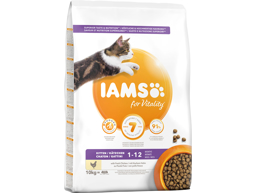 IAMS KITTEN / JUNIOR KATTEMAD