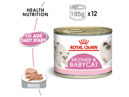 ROYAL CANIN BABYCAT INSTINCTIVE MOUSSE KATTMAT