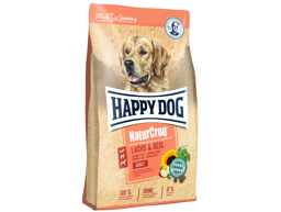 HAPPY DOG NATURCROQ  LAX OCH RIS HUNDFODER