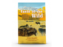 TASTE OG THE WILD HIGH PRAIRE HUNDEFODER