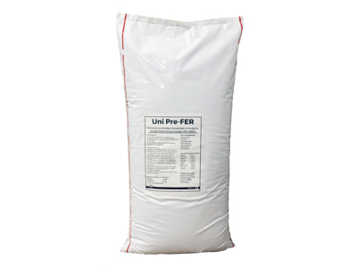 UniPre-FER jern/træningsfoder 15 kg