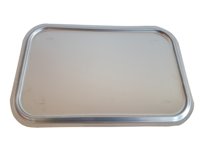 Feedingplate stainless for piglets-Unifeeder without trailing edge