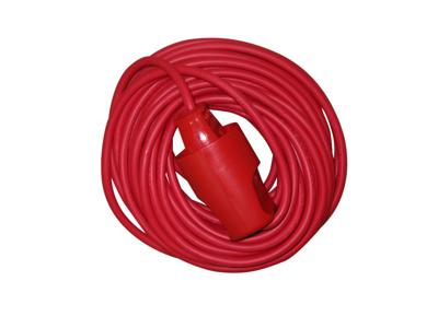 Kabelsæt 2x1,0 rød 10 meter