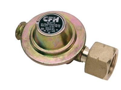 Gasregulering til gasbeholder til D-Horn