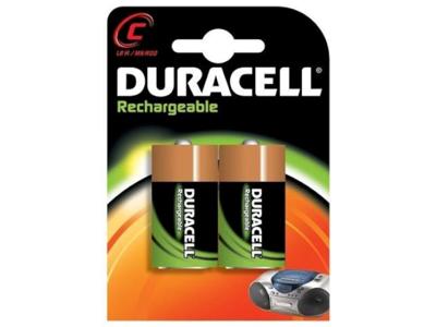 Batteri genopladeligt C LR14 pk. med 2 stk.