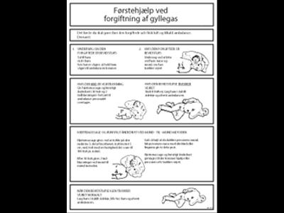 Førstehjælp - Gylle A3