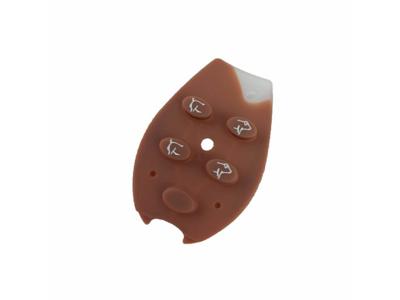 Rubberbutton for remote control Bopil