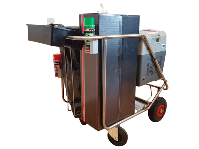 Insemineringsvogn med 32 liter  climatebox