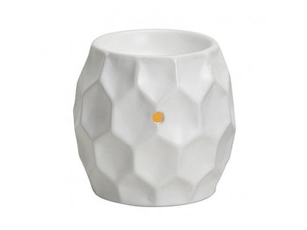 Duftlampe kube hvid